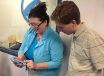 Linda and Jackie review the Reacht application.