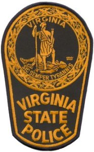 Virginia State Police Patch